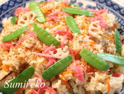 超簡単 ちらし寿司 マクロビオティックレシピ